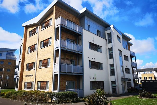 Thumbnail Flat for sale in Plover House, 1 Broomhill Way, Poole, Dorset