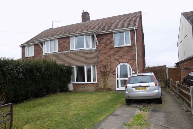 Thumbnail Semi-detached house for sale in Crab Lane, Bradwell, Great Yarmouth