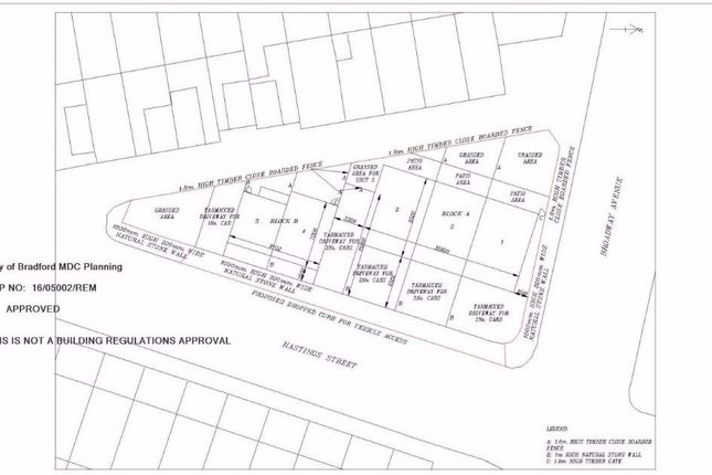 Thumbnail Land for sale in Broadway Avenue, Bradford