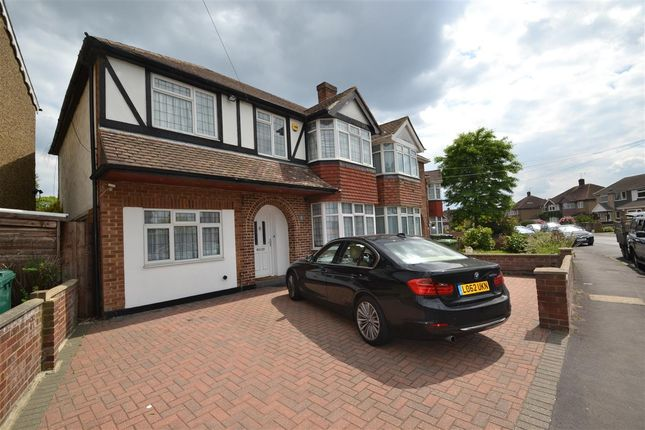 Thumbnail Semi-detached house for sale in Oaks Road, Stanwell, Staines