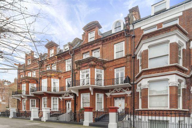 Exterior of Sutherland Avenue, Maida Vale, London W9