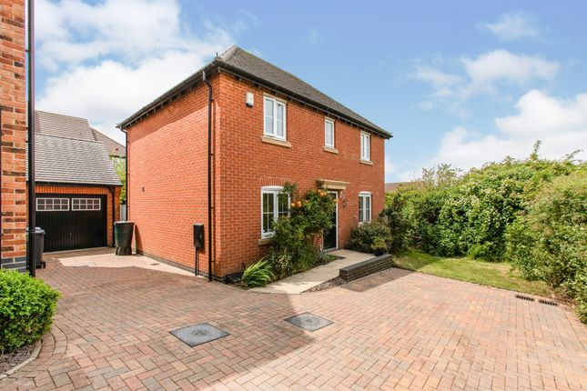 4 bed detached house for sale in David Hobbs Rise, Market Harborough LE16