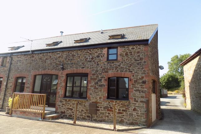 Thumbnail Barn conversion to rent in Torrington Road, Winkleigh