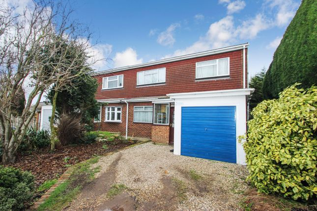 Thumbnail Semi-detached house for sale in Golden Manor Drive, Benfleet