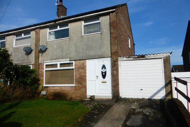 Thumbnail Semi-detached house for sale in Crawford Close, Beddau, Pontypridd