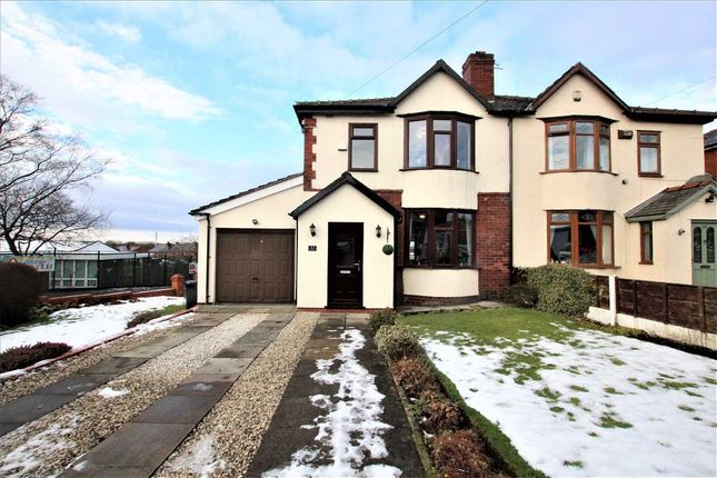 Thumbnail Semi-detached house for sale in Crescent Avenue, Over Hulton, Bolton