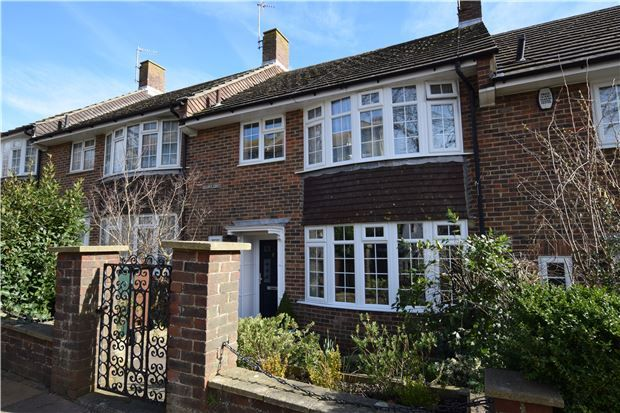 Thumbnail Terraced house for sale in Enys Road, Eastbourne, East Sussex