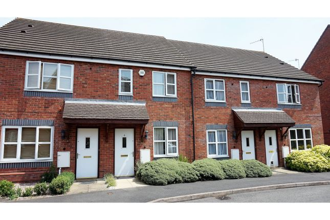 Thumbnail Terraced house for sale in Hipkiss Gardens, Droitwich