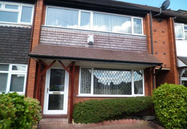 Thumbnail Town house to rent in Tiverton Road, Bentilee, Stoke-On-Trent