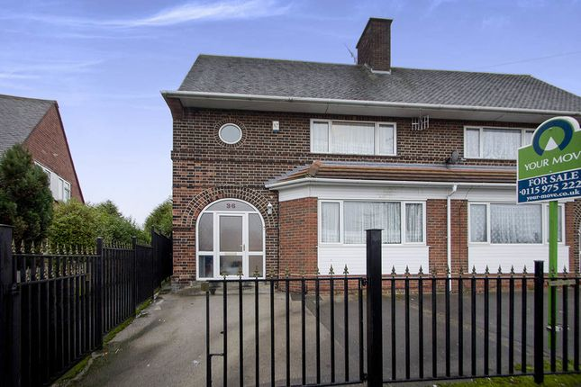 Thumbnail Semi-detached house for sale in Tollerton Green, Nottingham