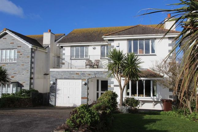 Thumbnail Detached house for sale in The Willows, Newquay