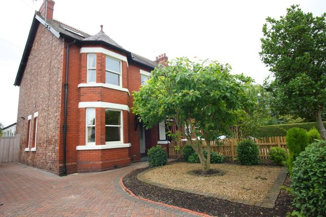 Thumbnail Semi-detached house to rent in Higher Lane, Lymm