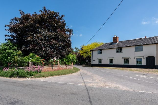 Thumbnail Detached house for sale in Hunts Corner, Banham, Norwich, Norfolk