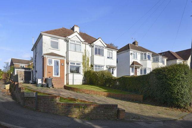 Thumbnail Semi-detached house for sale in Warren Road, Banstead