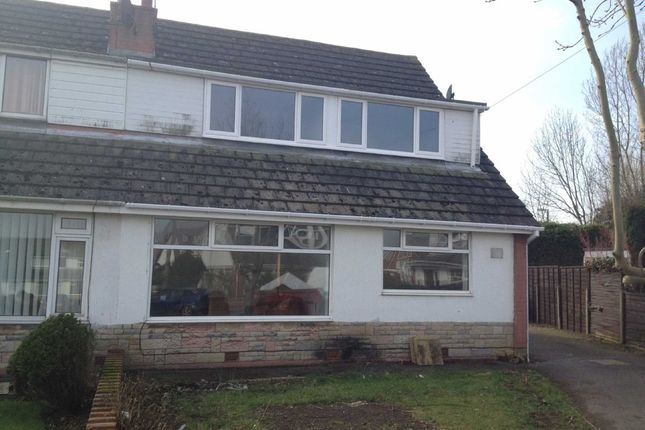 Thumbnail Semi-detached bungalow to rent in Tewkesbury Drive, Lytham St. Annes
