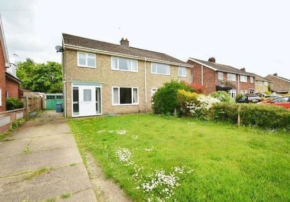 Thumbnail Semi-detached house to rent in Fieldview, Norwich