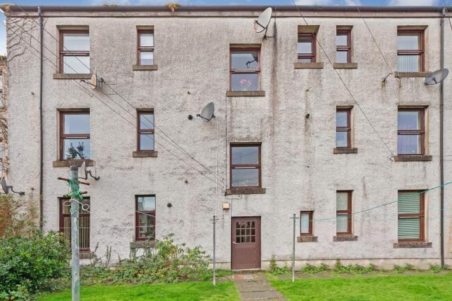 Rear Of Building of Boyd Street, Largs, North Ayrshire, Scotland KA30