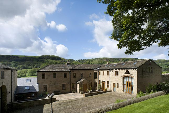Thumbnail Detached house for sale in Springfield Farm, Blake Hill, Shibden