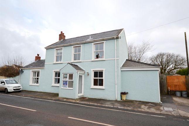 3 bed detached house for sale in The Green, Hundleton, Pembroke
