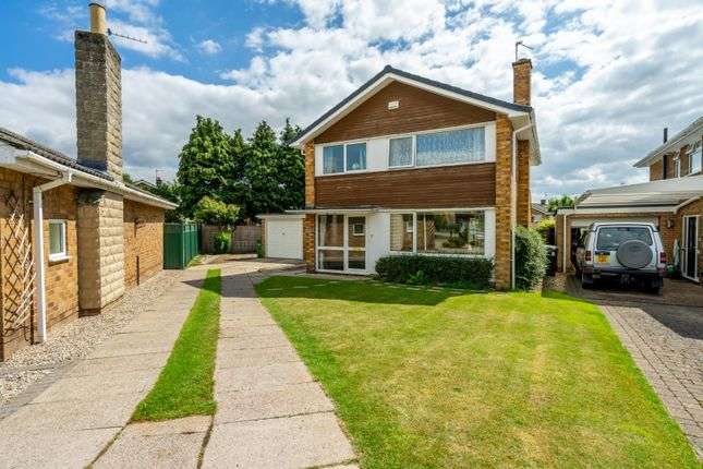 Thumbnail 4 bed detached house for sale in Hawthorne Close, Nether Poppleton, York