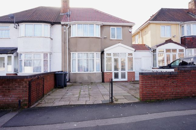 Thumbnail Semi-detached house to rent in Church Hill Road, Handsworth, Birmingham
