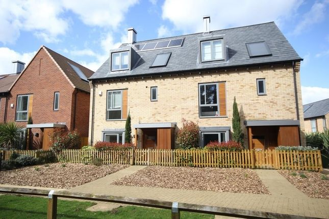 Thumbnail End terrace house to rent in Spring Drive, Trumpington, Cambridge