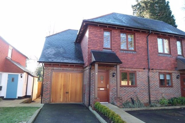 Thumbnail Semi-detached house to rent in Clenches Farm Road, Sevenoaks