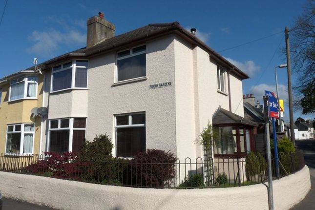 Thumbnail Semi-detached house to rent in Priory Gardens, Brecon