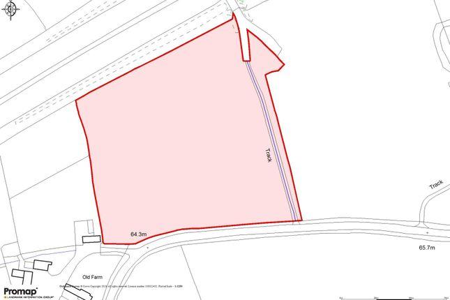 Sale Plan of Pasture Paddock At Grittenham, Grittenham, Chippenham, Wiltshire SN15