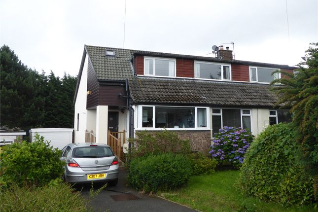 Thumbnail Semi-detached house for sale in Wherwell Road, Brighouse, West Yorkshire