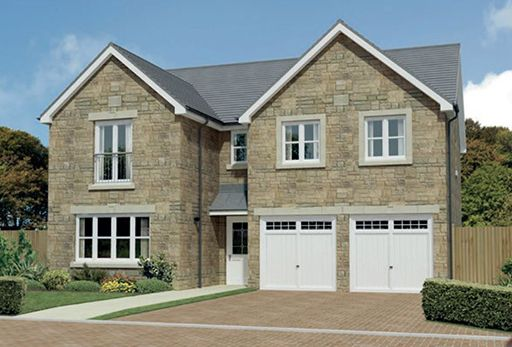"Thumbnail Detached house for sale in ""Malborough"" at Harrowslaw Drive, Hamilton"