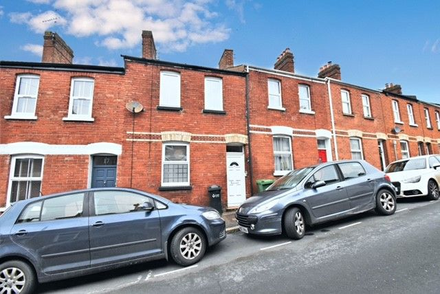 Thumbnail Terraced house to rent in Radford Road, Exeter