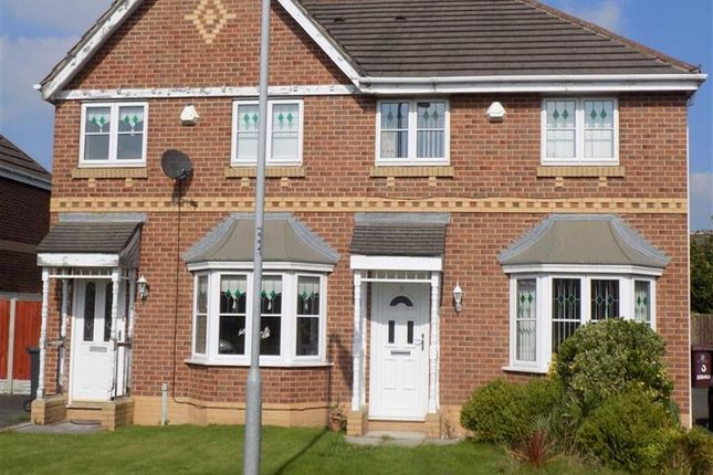 Thumbnail Semi-detached house to rent in Redwald Close, Kirkby, Liverpool