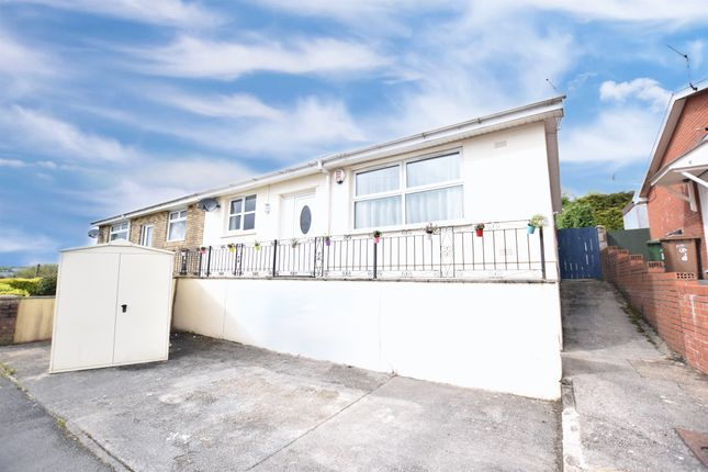 Thumbnail Semi-detached bungalow for sale in Claremont Road, Newbridge, Newport