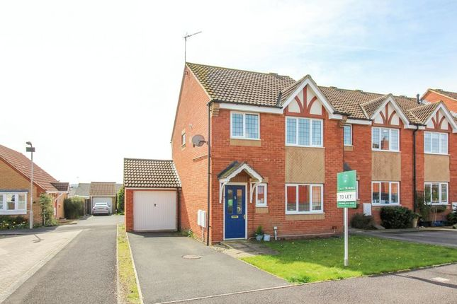 Thumbnail End terrace house to rent in Thurstin Way, Gillingham