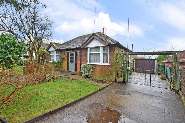 Thumbnail 2 bed detached bungalow for sale in Off Boxhill Road, Boxhill, Tadworth, Surrey