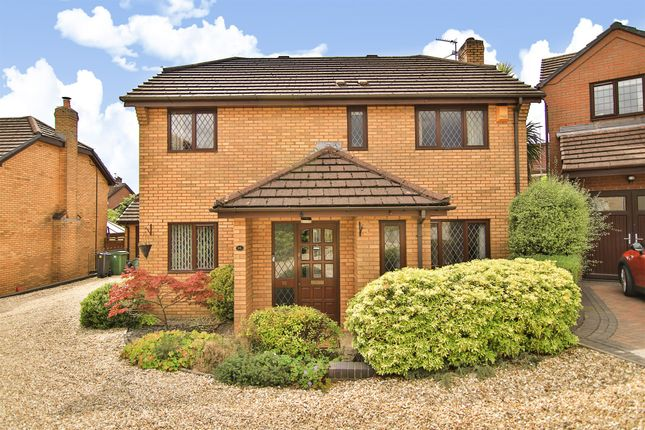 Thumbnail Detached house for sale in Cefn Onn Meadows, Lisvane, Cardiff