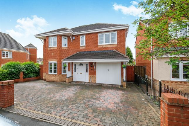 Thumbnail Detached house for sale in Smallshire Close, Wednesfield, Wolverhampton