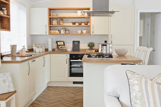 Thumbnail Mobile/park home for sale in Riverview Residential Homes, Forres Moray