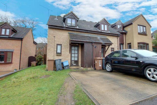 Thumbnail End terrace house to rent in Downlands, Stevenage