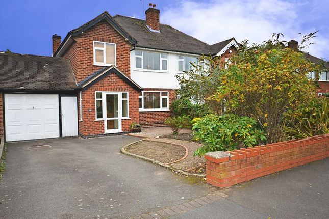 Thumbnail Semi-detached house to rent in Queens Avenue, Shirley, Solihull