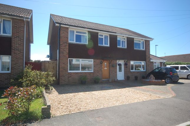 Thumbnail Semi-detached house for sale in Dennys Close, Selsey