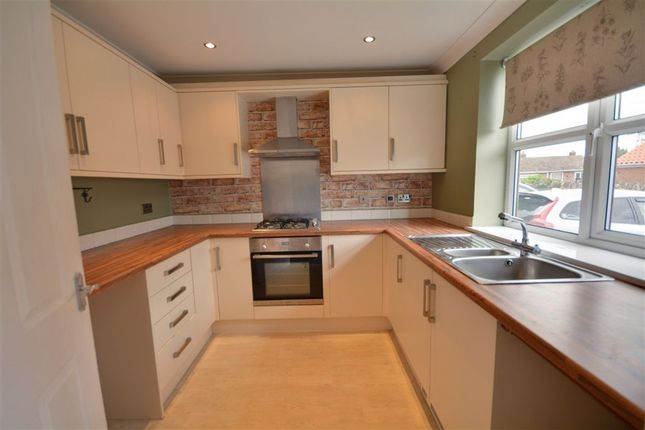 3 bed terraced house to rent in Vicars Mews, Brotherton WF11