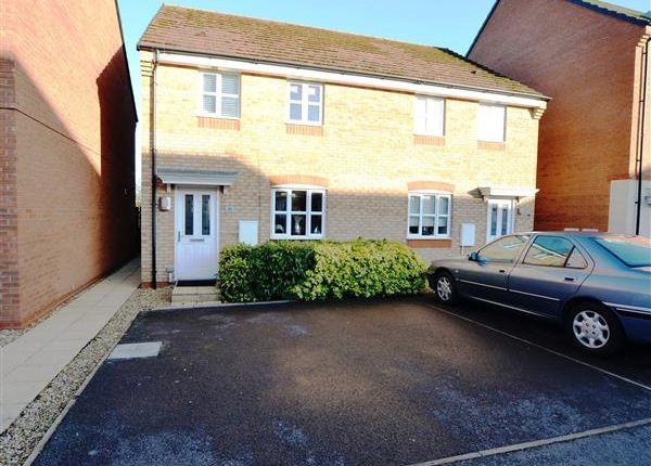 Thumbnail Semi-detached house for sale in Great Row View, Wulfstan Grange, Wolstanton, Newcastle