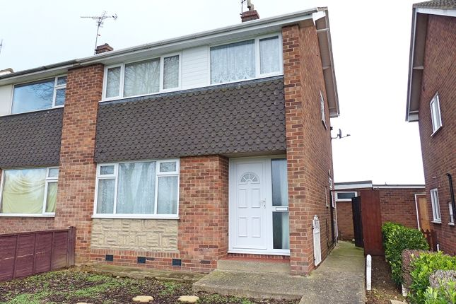 3 bed semi-detached house for sale in Southdown Road, Yaxley, Peterborough