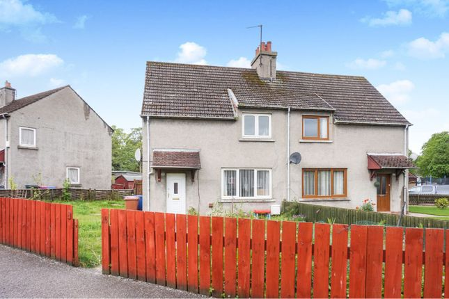 Thumbnail Semi-detached house for sale in Burnbank, Fochabers