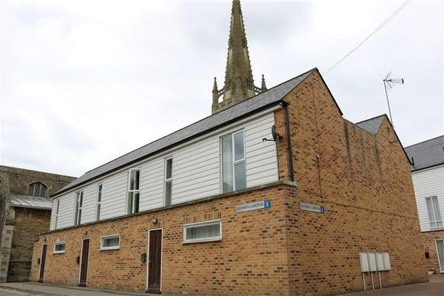 Thumbnail End terrace house to rent in Mansion Gardens, Market Place, Whittlesey