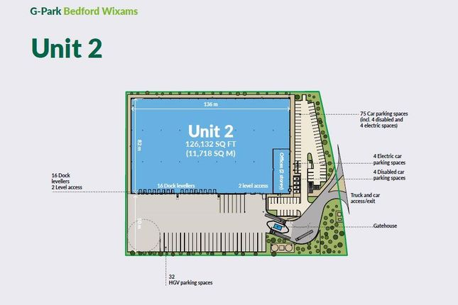 Thumbnail Industrial to let in Bedford Road, Wixams, Bedford