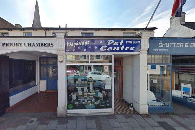 Retail premises for sale in Church Street, Weybridge