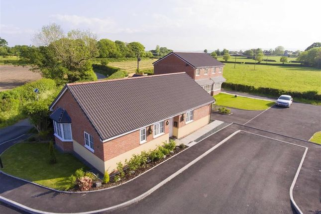 Thumbnail Detached bungalow for sale in Plot 1, Heritage Green, Forden, Welshpool, Powys